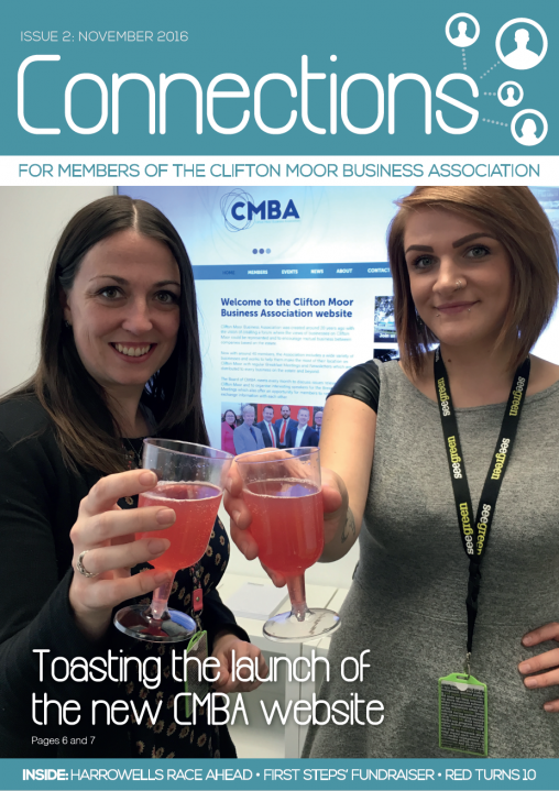 CMBA newsletter Nov 2016 (Issue 2) cover