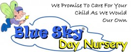 Blue Sky Day Nursery logo